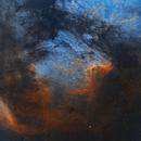 The Pelican Nebula,                                Ioan Popa