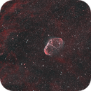 NGC 6888 - The Crescent Nebula in HOO,                                  Benny Colyn