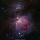 M42 Orion Nebula (LRGB),                                Jian Yuan Peng