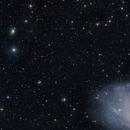 Comet 156/P Russell_LINEAR Enters the field with M33, Jan7 2021,                                Dan Bartlett