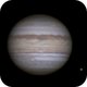 Jupiter, Ganymede & Io.,                                Francesco Cuccio