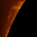 Sun h-alpha - 26 june 2015,                                Alessandro Carrozzi