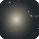 M87 avec ses amas globulaire (Par Serge Brunier et moi),                                Frédéric Tapissier