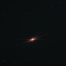 Tests on selfmade Bahtinov mask on Betelgeuse,                                Maxou034