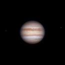 Jupiter 2020-08-01. RGB. Io and Ganymede,                                Pedro Garcia
