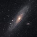 M31 (LRGB - Full Moon),                                Gabriel Dornier