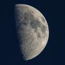 57% of the moon @1200 mm,                                Eddy Cochez