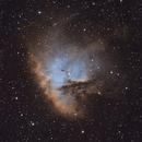 NGC281 - Pacman Nebula SHO,                                Tobias Borer