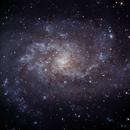 M33 Triangulum Galaxy,                                tjschultz2011