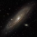 M31 Andromeda Galaxy,                                Everett Lineberry