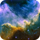 NGC 7000 - Cygnus wall, mapped color,                                PGU (Giuliano Pin...