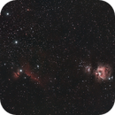 Widefield Orion Nebula M42,                                GW