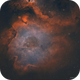 IC 1848 • Half of the Soul Nebula in HOO,                                Douglas J Struble