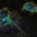 Heart and Soul Nebula,                                leguenp