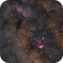 Milky Way at large field.,                                ElioMagnabosco