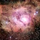 Messier 8 (narrow band filters),                                Giuseppe Donatiello