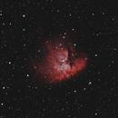 NGC 281 Pacman Nebula 20201102 11440s Ha-OIII 01.6.3,                                Allan Alaoui