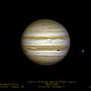 Transit of Europa moon on Planet Jupiter,                                Fernando Roquel Torres