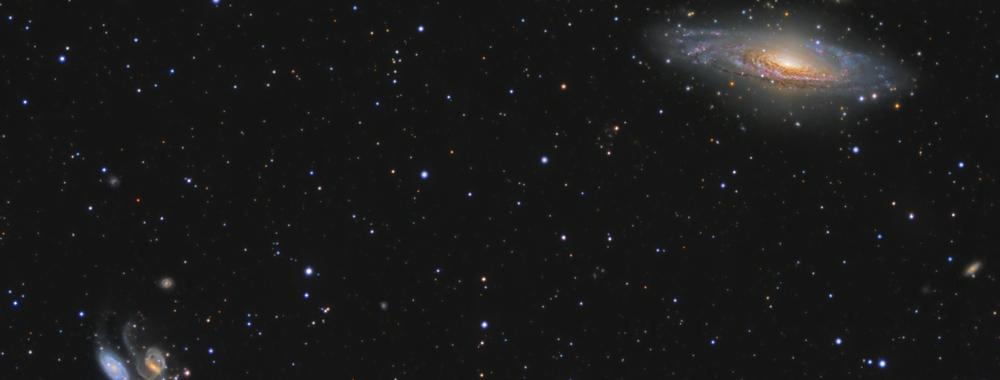 NGC7331 Stephan's Quintet HaLRGB,                                  Olly Penrice