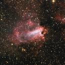 M17 Omega Nebula,                                Mathias Radl