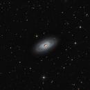new version - M64 - Black Eye Galaxy,                                Arnaud Peel