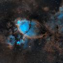 NGC 896 - Fish Head - SHO,                                Kristof Dierick