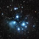 M45 Pleiades,                                Brent