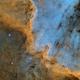 Le mur de North America NGC7000,                                ZlochTeamAstro