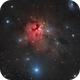"""NGC 1579 the 'Northern Triffid"""",                                Barry Wilson"""