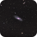 Messier 106 - QHY600 - Esprit 150 - LRGB Ha,                                Eric Walden