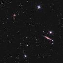 NGC 4157 in Ursa Major,                                Nurinniska