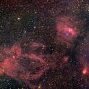 M52 ngc7635, sh2-157 and ngc7538 HaLRGB,                                Zoltan Panik (ijanik)