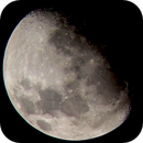 The moon as seen from Cavite Philippines,                                  uncoverbugs