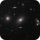 Ring of galaxies - part of Markarian Chain,                    Maciej