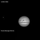Jupiter (visible, proche IR, IR méthane),                                ch4titan
