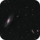 M106 and numerous fuzzy friends,                                Mike_Stutters