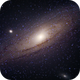 Andromeda and friends.,                                CosmicCricket
