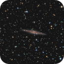 NGC 891 Edge on Spiral,                                Ron Stanley