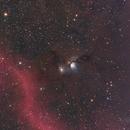M78 Casper and its surroundings,                                sunirshines