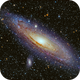 M31 in HaLRGB,                                Rathi Banerjee