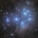 Pleiades Cluster,                                Ken-ichiro Tanaka