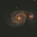 M51 - Whirlpool,                                Sean van Drogen