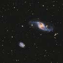 Ngc 3718 & ngc 3729. Hickson 56,                                  astromat89