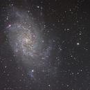 M33 LRGB 5 heures,                                cguvn