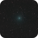 Comet 252P Linear in northern Ophiuchus,                                Tony Cook