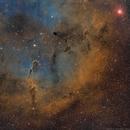IC 1396 - Sii, Ha, Oiii,                                Brad