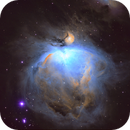 M42 Orion Processed in SHO,                                Surfrider