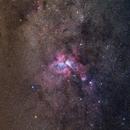 Região de Eta Carinae,                                Irineu Felippe de Abreu Filho
