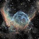 NGC 2359, Thor's Helmet Nebula,                                Ruben Barbosa