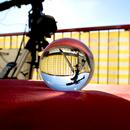 Telescope through lensball,                                Christian Kussberger